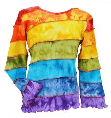 Rainbow Diagonal Top