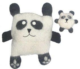 Panda Felt Cushions